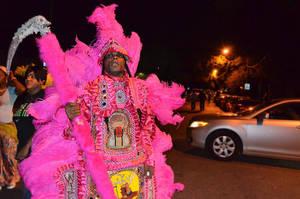 Mardi Gras Indians 83 by Kennyfiddler