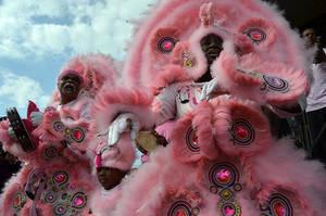 Mardi Gras Indians 12 by Kennyfiddler
