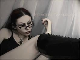 Selfportrait by d1sarmon1a