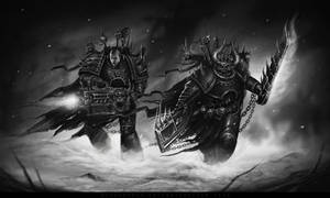 FOR THE BLOOD GOD! by d1sarmon1a