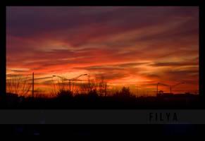Burning skies by filya1