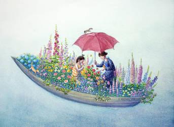 A June garden by perodog