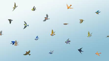 Waltz for little birds wallpaper2 by perodog