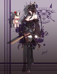 Jenova Highschool Lulu by Karosu-Maker