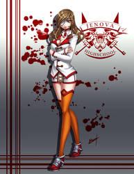 Beatrix Jenova Highschool by Karosu-Maker