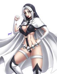 Lady Omega by Karosu-Maker