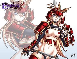 Samurai Warrior B by Karosu-Maker