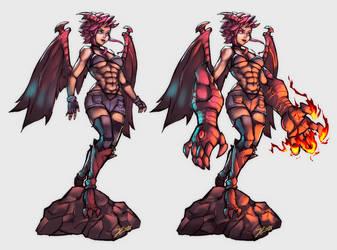 Demongirl by Andante2
