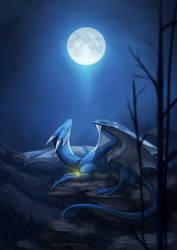 Commission: Orb of Night by Kaarhai