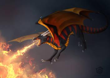 Commission: Burn Burn Burn! by Kaarhai