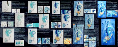 Copic Tutorial: Making of Sea Serpent by Deamond-89