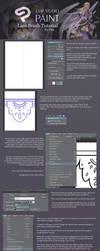 Clip Studio: Lace Brush Tutorial by Dea-89
