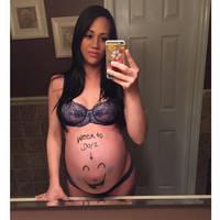 Pregnant belly 125 by shadowguy24