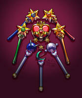 Henshin Items S by alex-heberling