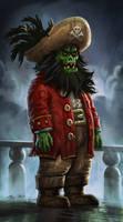 Zombie Pirate LeChuck by Vihola