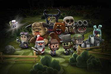 The Minigore Crew by Vihola