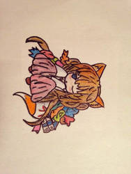 A cute fox by MMOAngeM