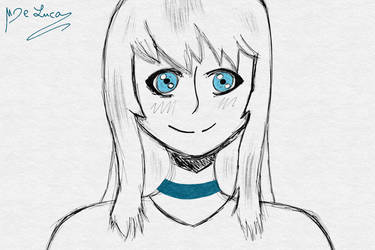 Random drawing #1 by MMOAngeM
