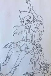 Scythe Girl by MMOAngeM