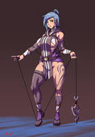 Blade of Astraea sketch 9 by RiskyGraphics