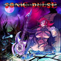 Sonic Pulse CD Cover by RiskyGraphics