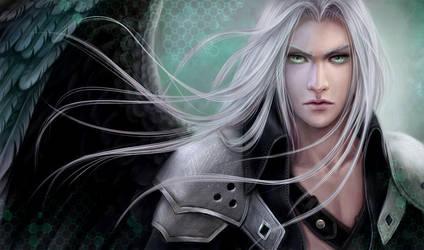 Final Fantasy 7.Sephiroth by AksaArt