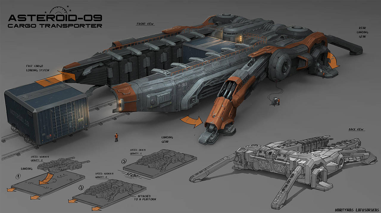 Carrier by martydesign