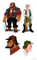 Hunter Exploration 2 by Hodori