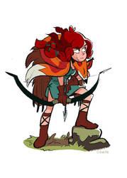 Huntress by Hodori