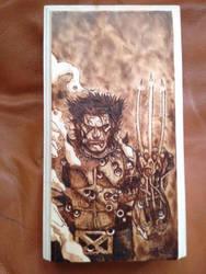Wolverine Woodburning by KealeS