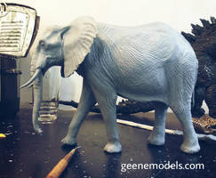 African Elephant almost done by GalileoN