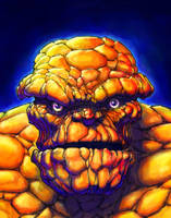 Fantastic Four THE THING by QuinteroART