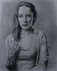 Portrait Study AinoP. by MrEyeCandy66