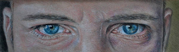 Watching (colored pencil) by MrEyeCandy66