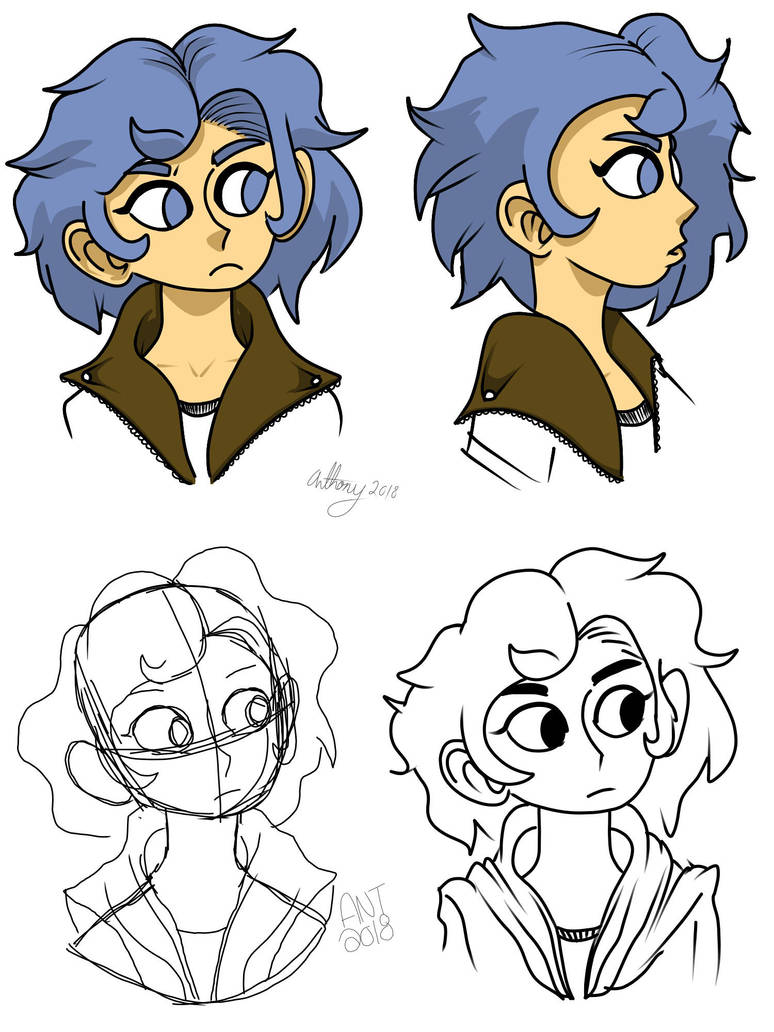 Character Design by Mracatomical
