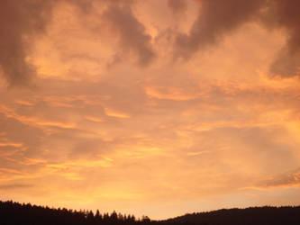 Sky and flames II by Cyanurex
