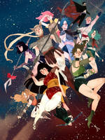 Sailor Moon by kevinwada