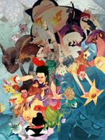 Pokemon!!! by kevinwada