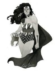 Wonder Woman - HeroesCon 2014 sketch by kevinwada