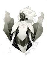 Storm - HeroesCon 2014 sketch by kevinwada
