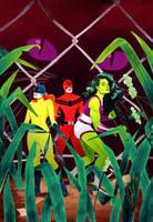 She-Hulk Issue #7 by kevinwada