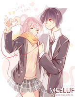 Happy Valentine's Day!! by Meeluf