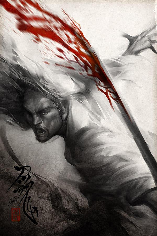 Samurai Spirit 6 by Artgerm