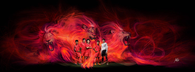 Unleash the Lions by Artgerm