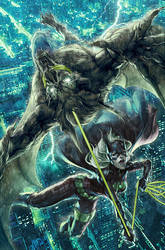 Batgirl Issue 11 by Artgerm