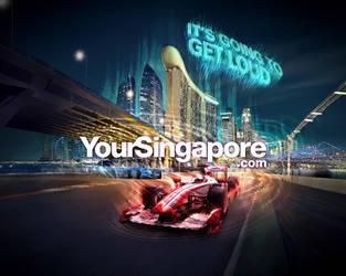 F1 Singapore 2010 - Pure Race by Artgerm