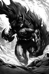 Batman Fury by Artgerm
