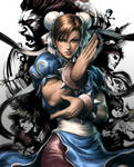 Street Fighter III OE Box Art1 by Artgerm