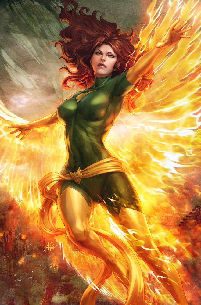 Jean Grey Phoenix by Artgerm