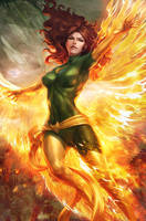 Jean Grey Phoenix by Artgerm